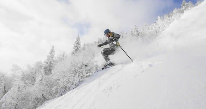 Gore Mtn Skier